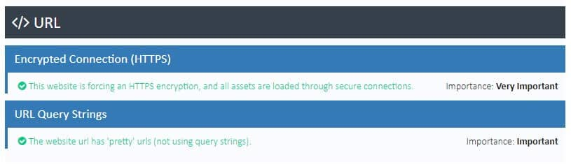 free website audit url analysis